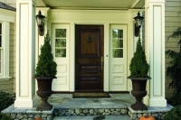 Weston Residence, Entry