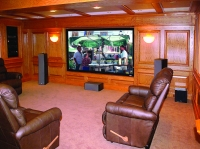 Branford Residence, Home Theater