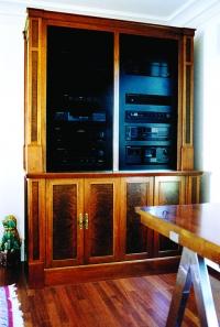 Stamford Residence, AV Storage Cabinet