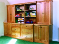 Branford Residence, Playroom Storage