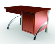 Manhatten Modular Table Desk, Minimalist Styling